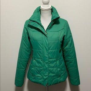 Columbia Green Puffer Coat